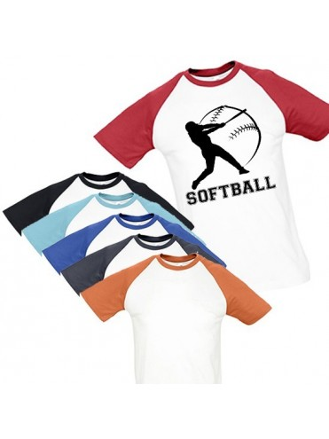 TEE-SHIRT SOFTBALL MASCULIN