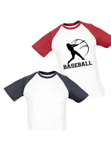 TEE-SHIRT BASEBALL ENFANT