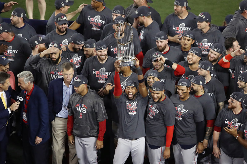 RED SOX BASEBALL LEX SPORT WORLD SERIES CHAMPIONS