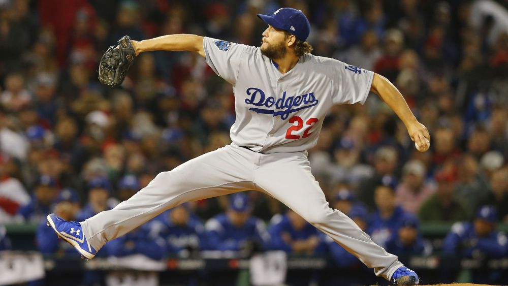 RED SOX BASEBALL LEX SPORT WORLD SERIES DODGERS CLAYTON KERSHAW