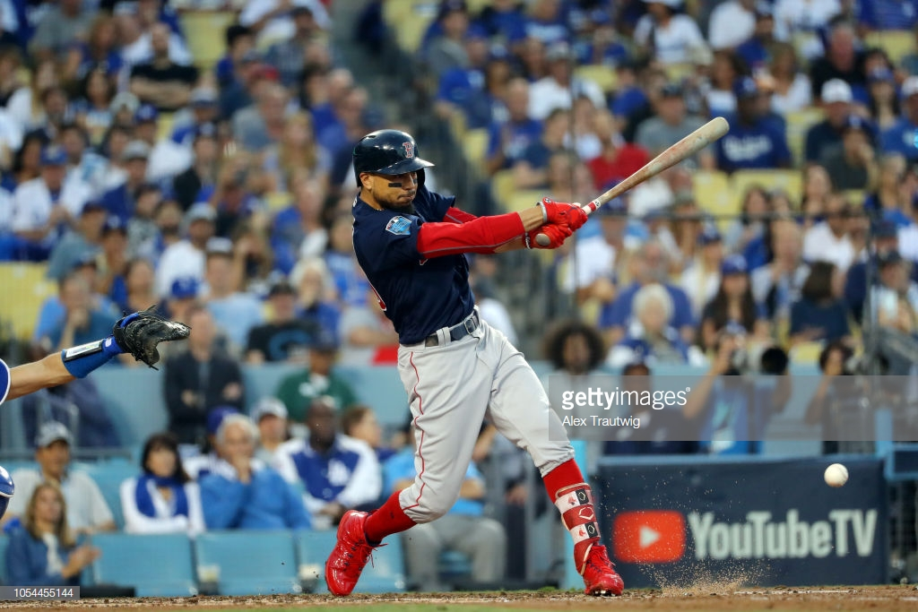 RED SOX BASEBALL LEX SPORT WORLD SERIES MOOKIE BETTS