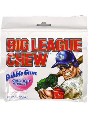 CHEWING-GUM BIG LEAGUE CHEW