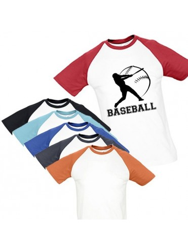 TEE-SHIRT BASEBALL MASCULIN