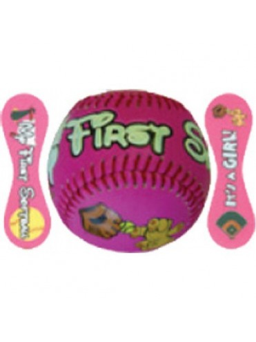BALLE BASEBALL BABY GIRL SOFTBALL LEX SPORT