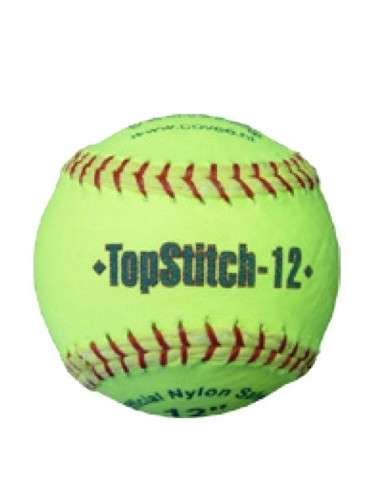 "BALLE SOFTBALL 12"" TOPSTITCH"