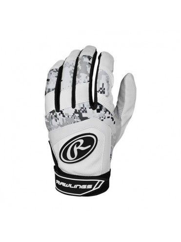 GANTS DE BATTING RAWLINGS 5150BGY BASEBALL SOFTBALL LEX SPORT