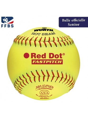 "BALLE SOFTBALL 12"" WORTH PX2RYLAH BASEBALL LEX SPORT"