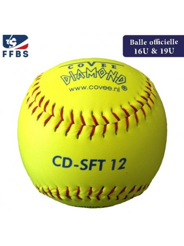 "BALLE SOFTBALL 12"" COVEE SFT12 BASEBALL LEX SPORT"