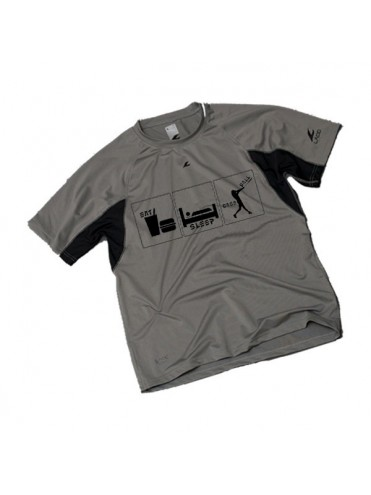 TEE-SHIRT EAT SLEEP BASEBALL SOFTBALL LEX SPORT