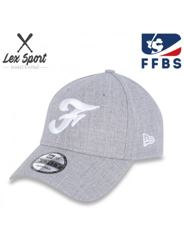CASQUETTE COURBE NEW ERA FRANCE FFBS FEDERATION BASEBALL SOFTBALL LEX SPORT