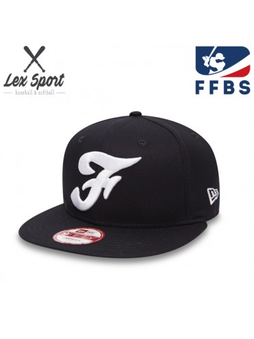 CASQUETTE PLATE NEW ERA FRANCE FFBS FEDERATION BASEBALL SOFTBALL LEX SPORT