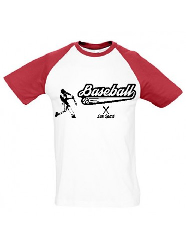 TEE-SHIRT BASEBALL VINTAGE ENFANT SOFTBALL LEX SPORT
