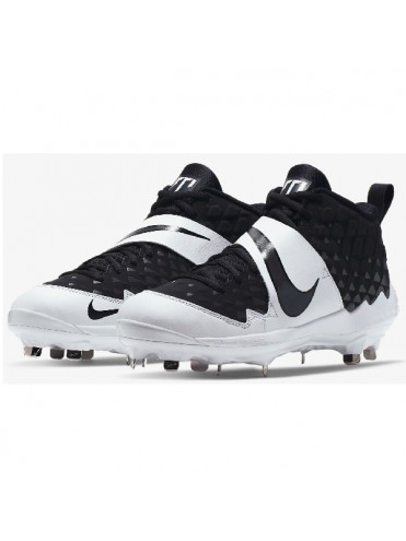 NIKE FORCE AIR TROUT MID METAL CHAUSSURES CRAMPONS SPIKES BASEBALL SOFTBALL LEX SPORT