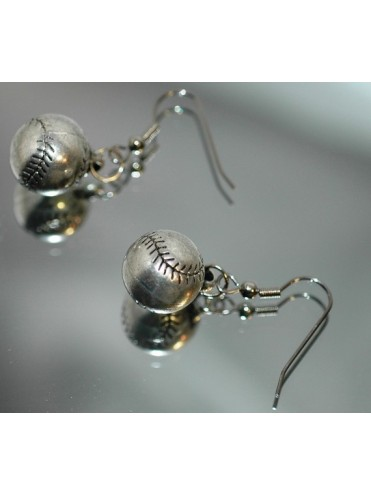 BOUCLES D'OREILLE BASEBALL SOFTBALL LEX SPORT