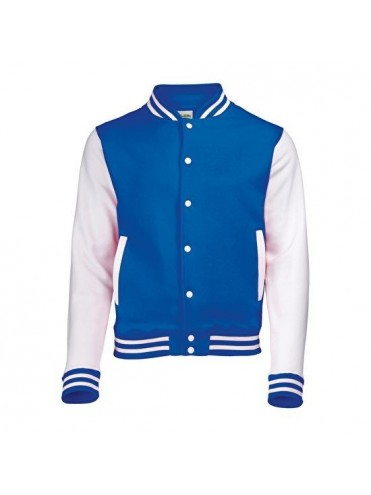 VESTE COLLEGE TEDDY ADULTE PERSONNALISEE BASEBALL SOFTBALL LEX SPORT