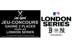 En route pour les London Series